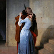 Hayez, The Kiss Poster