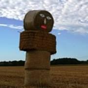 Haystack Man Poster