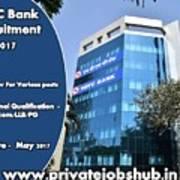 Hdfc Bank Recruitment Poster