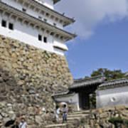 He Gate Himeji Castle Japanese Castles Doorway Gateway Japan Poster