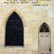 He Is My Refuge Poster