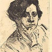 Head Of Woman (frauenkopf) Poster