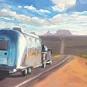 Heading South Towards Monument Valley Poster