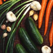 Healthy Vegetables Poster