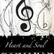 Heart And Soul - Music In Motion Poster