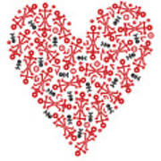 Heart Icon Poster