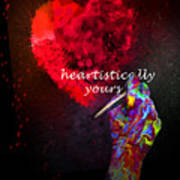 Heartistically Yours Poster