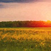 Heartland Glow Poster