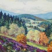Heather Meadow Poster