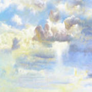 Heavenly Clouded Beautiful Sky Poster