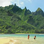 Heavenly Kauai Lagoon Poster