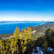 Heavenly South Lake Tahoe View 1 - Right Panel Poster