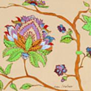 Heavens Flower Poster