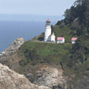 Heceta Head Lighthouse Li 9000 Poster