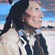 Hehaka Sapa Black Elk Poster