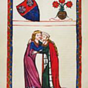 Heidelberg Lieder, 14th C Poster