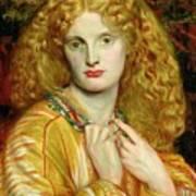 Helen Of Troy Poster by Dante Charles Gabriel Rossetti