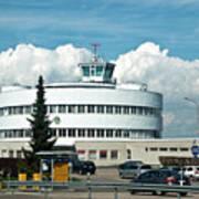 Helsinki - Malmi Airport Building Poster