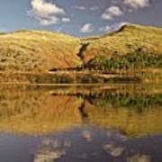 Helvellyn Mountain Reflections Poster