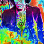 Hendrix Poster by David Lee Thompson