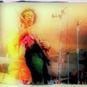 Hendrix Live Poster