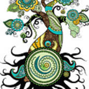 Henna Tree Of Life Poster