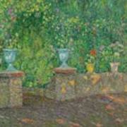 Henri Le Sidaner 1862 - 1939 The Pots Faience Poster