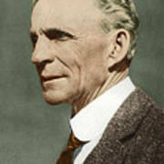 Henry Ford, Us Car Manufacturer Poster by Sheila Terry