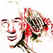 Henry Miller Portrait  Poster by Alexandra-Emily Kokova