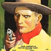 Henry Starr In A Debtor To The Law 1919 Poster
