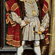 Henry Viii Poster by Hans Holbein the Younger