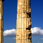 Hera Temple - Selinunte - Sicily Poster