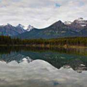 Herbert Lake Reflections  Poster