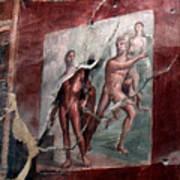 Herculaneum Fresco Poster