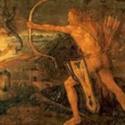 Hercules Kills The Symphalic Bird 1520 Poster