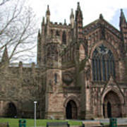 Hereford Cathedral  England Poster