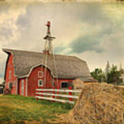 Heritage Village Barn Poster