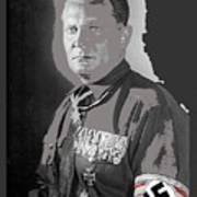 Herman Goering Portrait With His Medals Including The Blue Max Circa 1935-2016 Poster