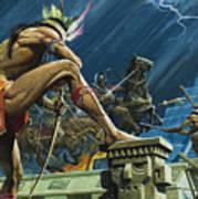 Hernando Cortes Poster