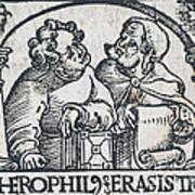 Herophilos, Erasistratus, Ancient Greek Poster
