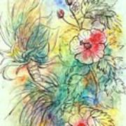 Hibiscus 2 Poster