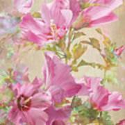 Hibiscus Impression Poster