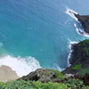 Hidden Kilauea Beach Poster