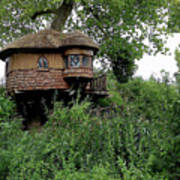 Hidden Treehouse Poster