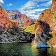 High Desert Lake Poster