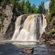 High Falls Of Tettegouche State Park2 Poster