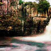 High Force With A Watercolour Effect. Poster