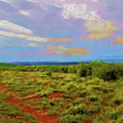 High Mesa Path Poster
