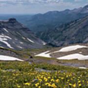 High Mountain Vista Poster