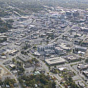 High Point Nc Aerial Poster